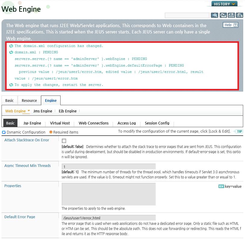 Chapter 1  JEUS Web Engines